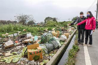 竹北麻園農地廢棄物汙染鳳山溪 地方盼除毒瘤