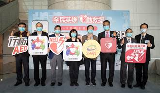 中保科聯手台灣大車隊 全國首創行動AED急救網