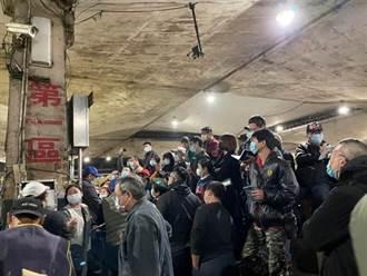 第一市場攤商未戴口罩疑雲  北市市場處公布3大防疫措施