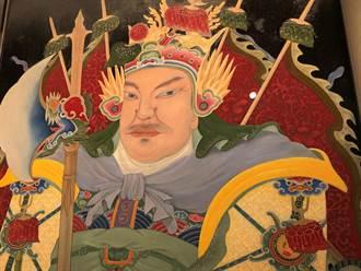 金門瓊林家廟門神 專家彩繪重現百餘年精采