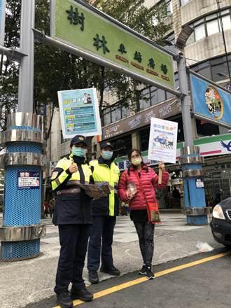 春節連假7天大執法 新北樹林警宣導交通法規觀念