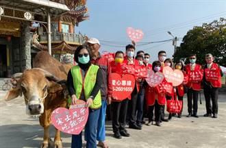 「一牛車」的愛心 創世送暖植物人家庭