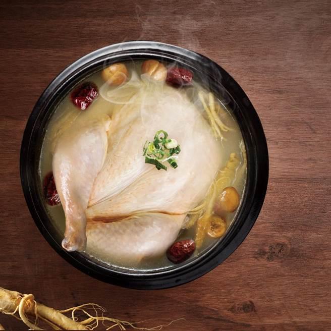 韩风双蔘栗子鸡。(豆府餐饮集团提供)