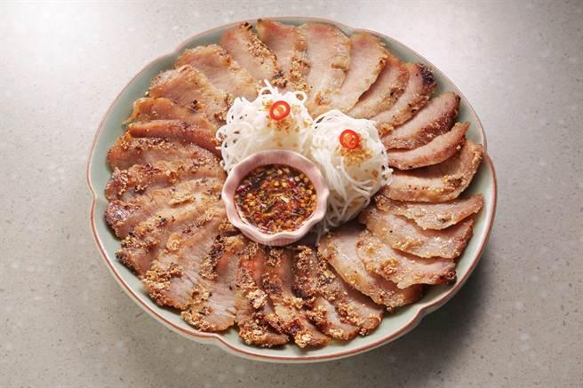 颂丹乐秘酱烤猪排。(颂丹乐提供)