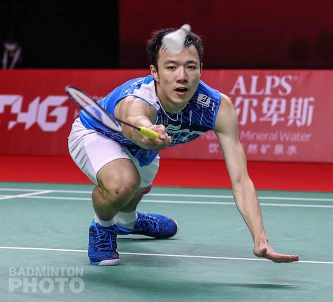 王子维在年终总决赛小组赛取得2连胜。(Badminton Photo提供)
