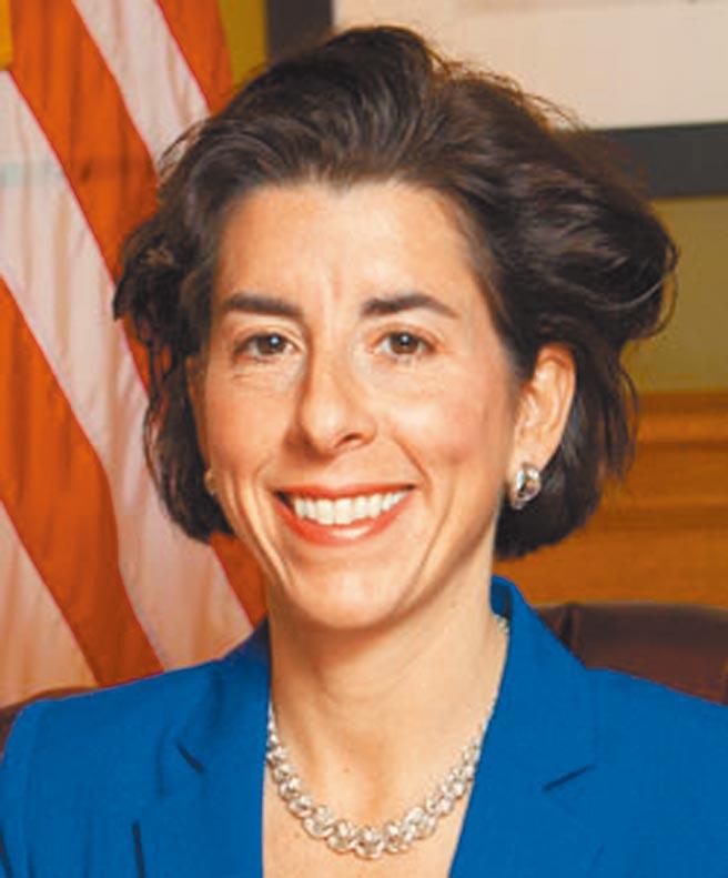 美國總統拜登提名的商務部部長人選吉娜‧雷蒙多 (Gina Raimondo) 。(摘自美國羅德島州州長辦公室)