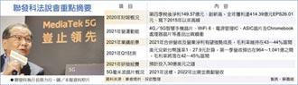 蔡力行:聯發科今年強勁成長
