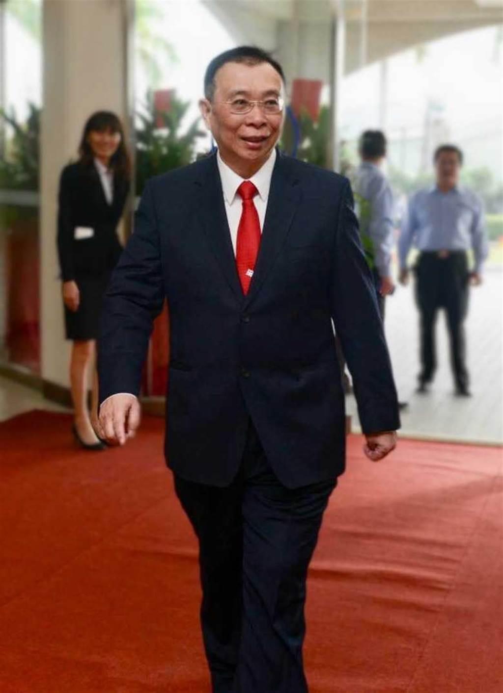 台灣鋼鐵集團會長謝裕民。(圖/報系資料照)
