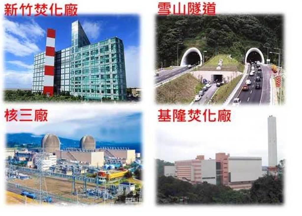 榮福的實績有新竹焚化廠、雪山隧道、台電核三廠、基隆焚化廠等。(圖/翻攝久陽法說會資料)