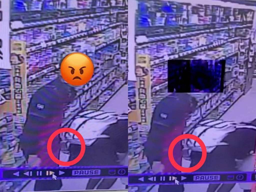 內湖全聯超市驚傳男店員襲臀女客人。(照片/翻攝 任姓網友臉書)