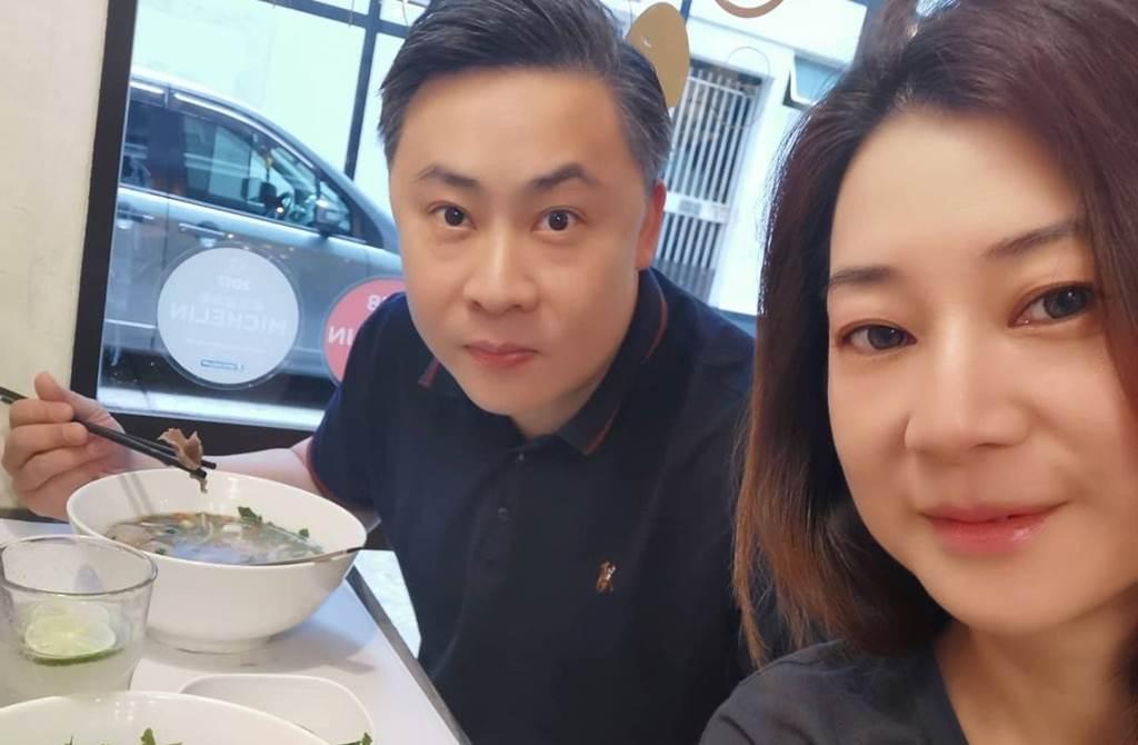 陳伶俐8年前再嫁隱形富豪。(圖/翻攝自brianna.0li IG)