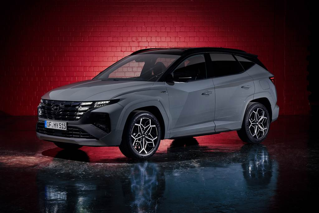 擴張品牌運動化車型陣容!Hyundai Tucson N-Line朝科技、跑格風靠攏