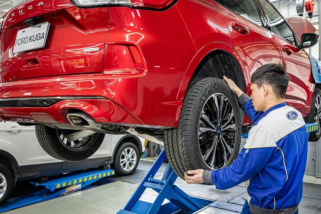 春節出遊行前檢查車胎磨耗狀況以及適當的胎壓,還關係著乘客在旅途中的舒適度。