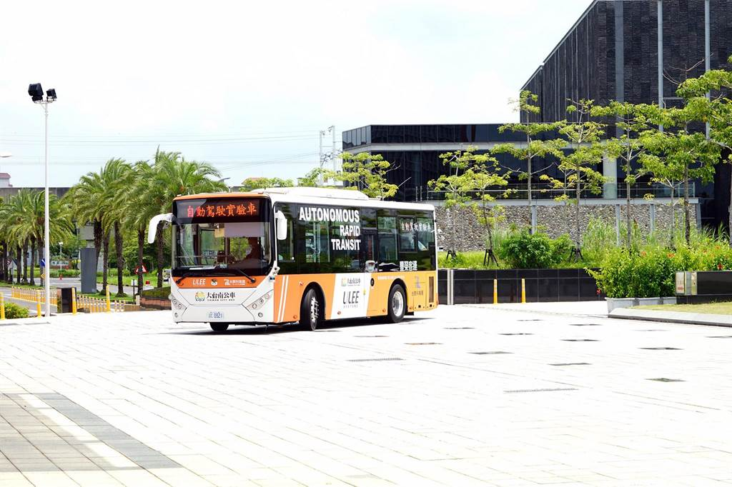 台南市自驾公车「沙崙智慧绿能科学城循环线」将开放民眾搭乘体验。(交通局提供/洪荣志台南传真)