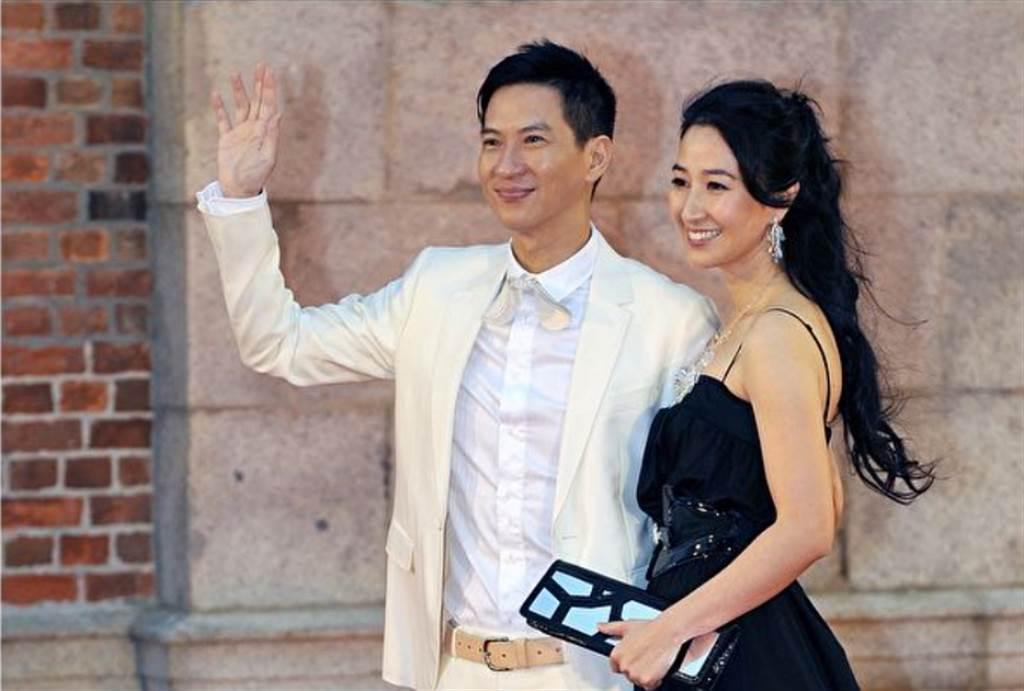 香港女星關詠荷和影帝張家輝相愛多年,在2003年結婚、2006年生下寶貝女兒張童。(圖/ 摘自達志影像)