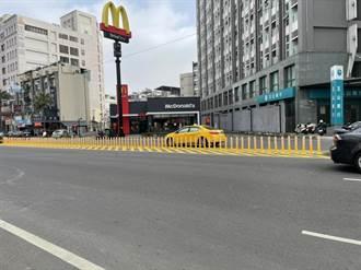 台南永康中正北路易肇事 增設交通桿盼降低事故率