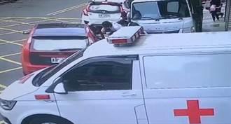 竹北大毒梟遭粉紅兵團劫囚 戒護警1緩起訴1不起訴