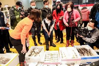 盧秀燕凌晨視察魚市 加強防疫平穩物價