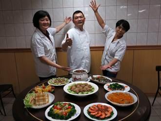 料理年菜不難 醫院廚師露撇步「蒸的」很輕鬆