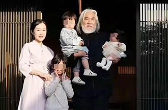 網酸:你老婆不會一直是你老婆 70歲名導護小31歲妻反擊