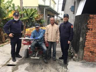 東勢茂谷柑飆高價 員警啟動護農專案加強巡邏