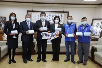 新北市雲林同鄉會捐贈5萬片口罩 給母縣弱勢民眾