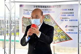 《經濟》視察沙崙智慧綠能科技城 蘇貞昌:前瞻部署發展