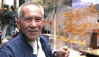 【玩FUN飯】80歲國寶畫糖一甲子 龍貓、天竺鼠車車活了