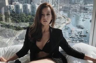 疑火辣星二代街頭激情肉搏27秒片瘋傳 她截圖喊冤:不是我