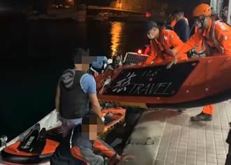 小琉球玩SUP立槳5名遊客遭海流帶走 海巡獲報順利救回