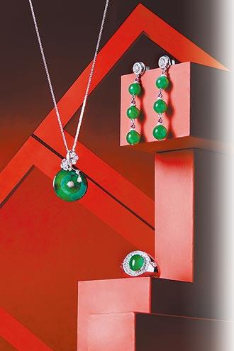 新年珠寶 紅喜氣綠貴氣