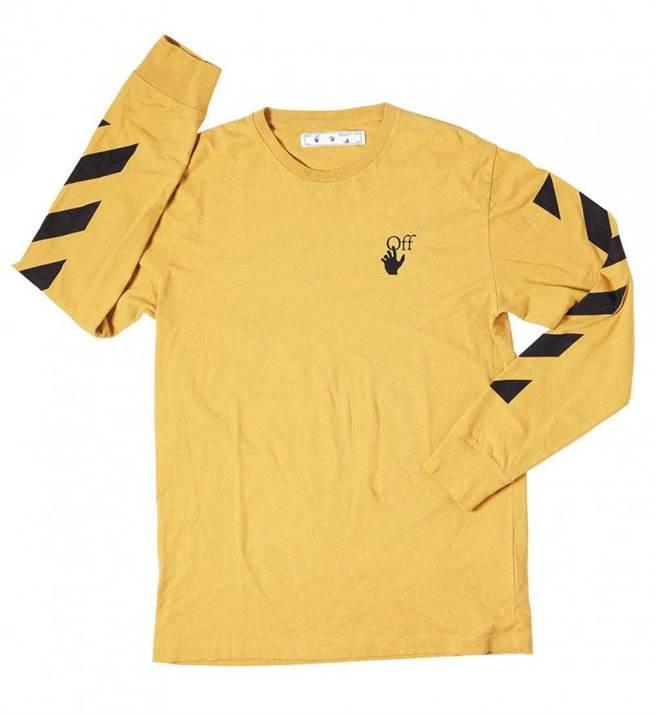 Off-White 長袖T-Shirt/11,000元。(圖/戴世平攝)