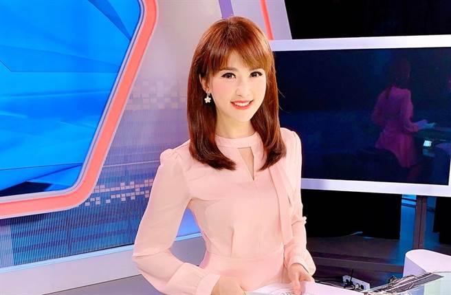 陳海茵見五寶爸新聞有感。(圖/翻攝自新聞主播 陳海茵臉書)