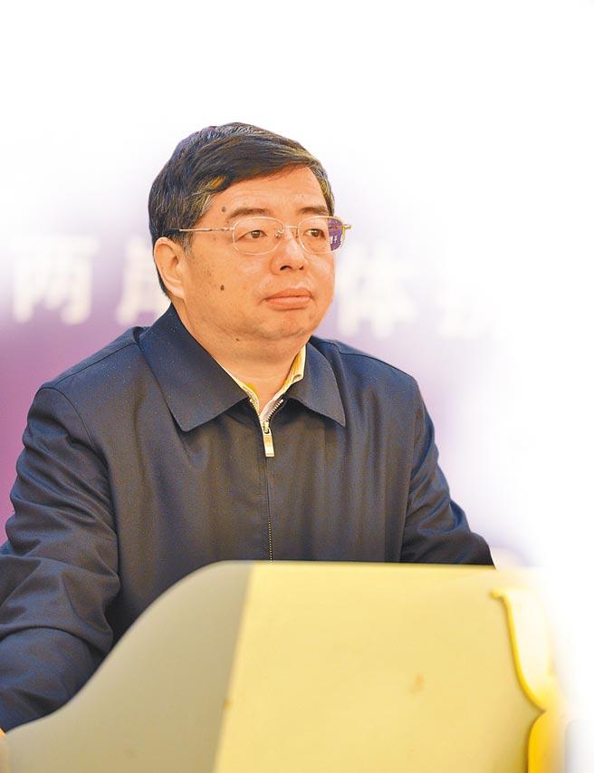 有「北大神童」之称的时任中纪委副书记、国家监察委员会副主任李书磊。(中新社)