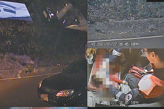 2歲毛姓男童吃葡萄時意外噎住窒息,救護車送到醫院急救仍回天乏術。(新竹縣消防局提供/羅浚濱新竹傳真)