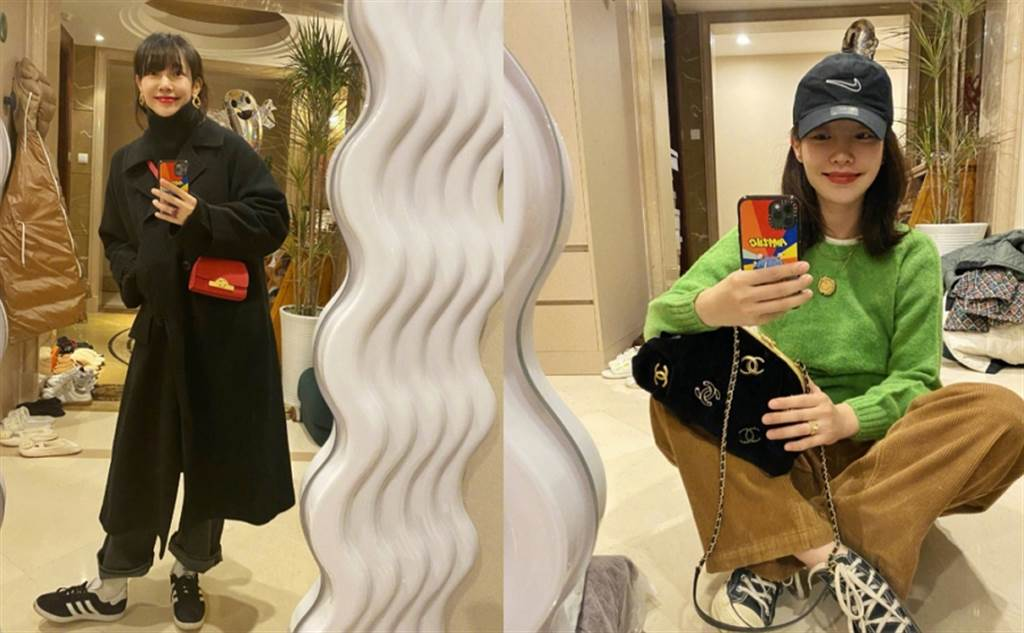 白百何近期不時在微博分享日常穿搭照,有網友發現她在離婚陳羽凡後,5年多的時間越活越年輕。(圖/ 摘自白百何微博)