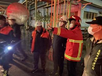 林園工業區1個月4爆 陳其邁po文要查廠