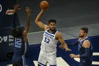 NBA》不只感染新冠 唐斯自爆去年車禍住院