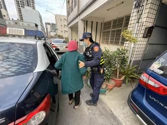 老奶奶迷失街頭  巧遇昔日警所女警助安全返家