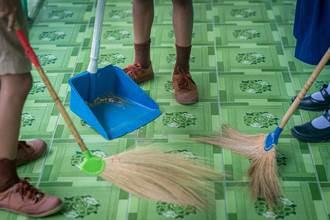 學生有繳學雜費為何還要幫學校掃地 網吐關鍵主因