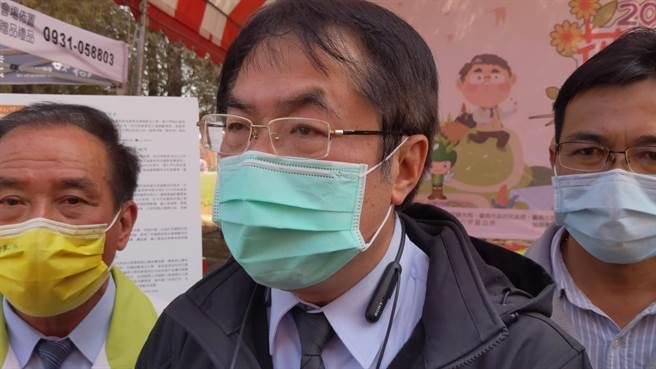 台南市防疫升級,今天宣布2月1日起,全市140家登記有案的長照跟身心障礙機構禁止探病。(莊曜聰攝)