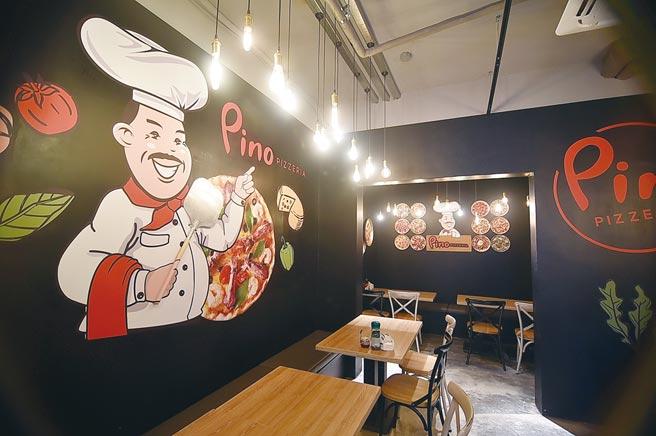 二店開在台北市中山北路六段,面積不大、只有26個座位。圖/姚舜