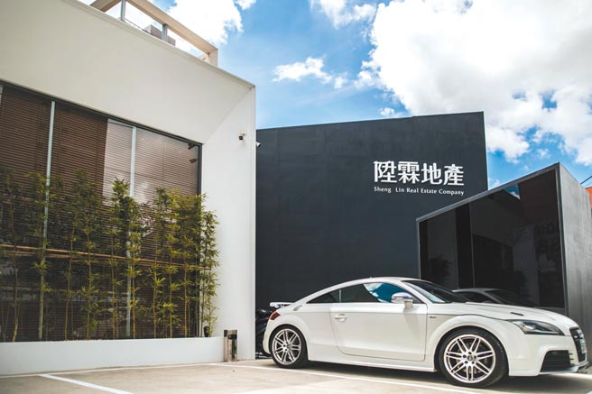 陞霖地產首案「陞霖太美」,目前已熱銷九成。圖/業者提供
