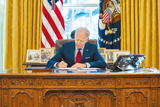 美國總統拜登。(美聯社)