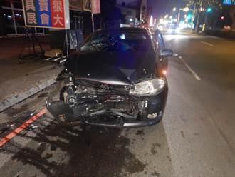 台中男子酒駕失控衝撞計程車 運匠受傷送醫