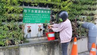 春節大掃除 中市府鼓勵民眾節水、改用次級水