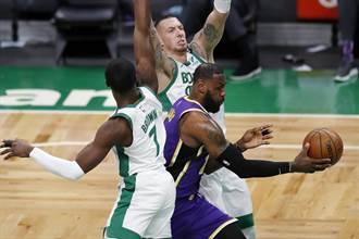 NBA》讀秒階段嚴重失神 湖人仍贏綠軍止敗