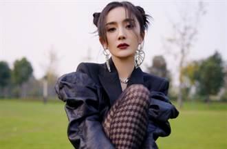 楊冪登台秀9頭身長腿 雙丸子頭火辣反差萌翻