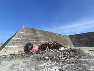 富岡漁港變垃圾港 民眾公德心低落