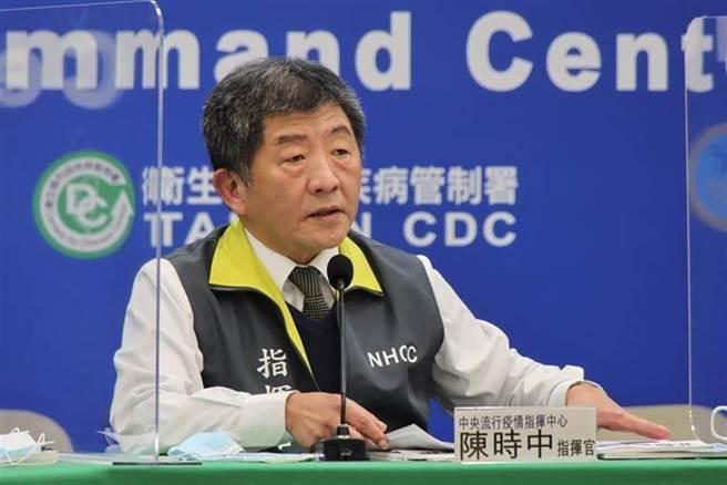 中央疫情指揮中心指揮官 陳時中。(圖/本報資料照)